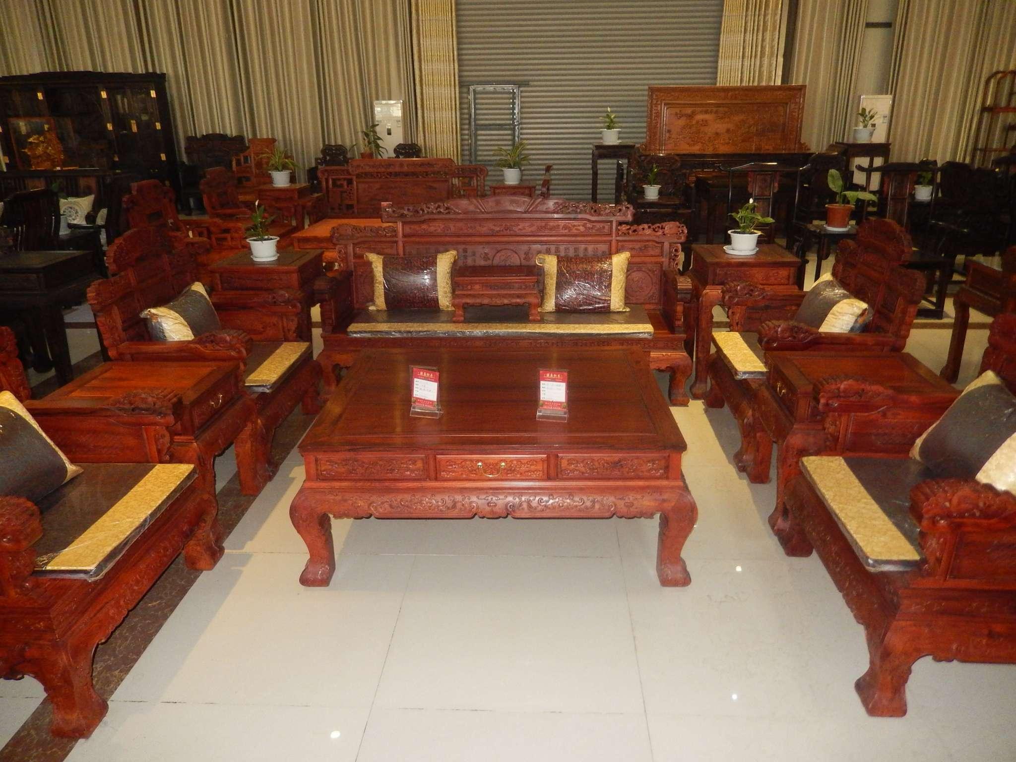 客厅红木沙发 - 景洪濠泰红木有限责任公司